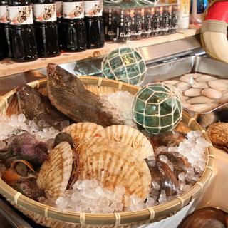 原始焼きもおすすめ!刺身でも炙っても美味しい海鮮