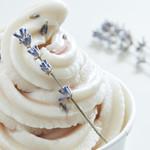 ライスミルクソフトクリーム