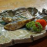 鬼の厨 しんすけ - ママカリの焼き酢漬け