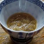 鬼の厨 しんすけ - 海鼠腸(このわた)
