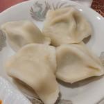 上海厨房 家楽 - 茹で餃子、かも....