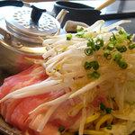 ゆうき家 - 「太麺豚焼そば」609円
