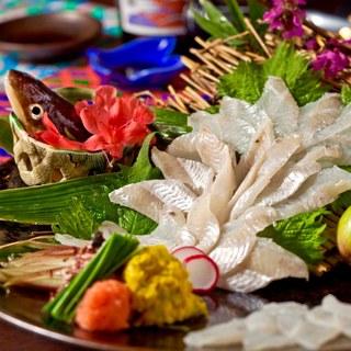 九州直送!鮮度自慢の海鮮料理は必食の一品!