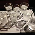92111026 - 2017/12/30 利き酒六種 越後めぐり