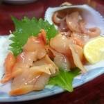 ふみ - 赤貝 刺身