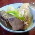 ふみ - 大根と魚煮