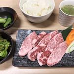 肉いち枚 - 牛焼肉定食