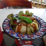 潮岬観光タワー - マグロと野菜の揚げ物