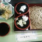 味処みのり - 天セイロ\1100