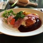 山のレストラン - 「オールドファッション ハンバーグステーキ」