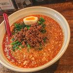 あづま屋担々麺 悠泉 - ノーマルの「担々麺」(650円)は辛さが5段階。