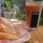 nil cafe - フレンチトーストパンケーキ