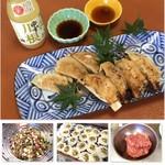 和彩食堂あけぼの - 天然のイノシシ又はシカ肉餃子 540円