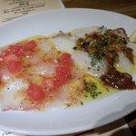 センバキッチン - ◆鮮魚のカルパッチョ@880円