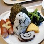 アルファーワン - 朝食(自分が取った料理)