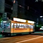 アルファーワン - 【参考】ホテル前には市電が走っています