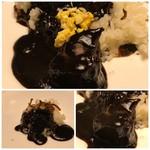 博多和田門 - ルーは真っ黒、お肉はよく煮こまれ柔らかい。