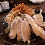 肉汁餃子製作所ダンダダン酒場 - 蒸し鶏のサラダ
