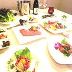 肉のレストランくらた - 料理写真:常陸牛 肉会席コースイメージ