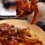 日光 翠園 - A定食『牛肉の黒豆味噌炒め』