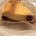 エマ スミビアンドカンミ - ブルーベリーチーズケーキ