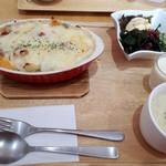 トーフカフェおおはたや - 料理写真:とうふ屋のドリア(1080円)