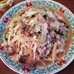四海樓 - 肉皿うどん1188円