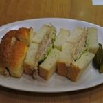 俺のBakery&Cafe - ツナサンドイッチ