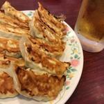 宇都宮餃子館 - 餃子と言えばビール(笑)