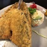 三松会館 - 魚フライ