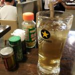 幸の鳥 - 冷たい緑茶はジョッキで