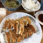 92166387 - 餃子定食