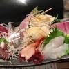 立ち食い弁慶 - 料理写真:お造り 盛り合わせ 中