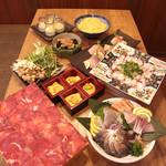 武蔵 - 牛タンすき焼きしゃぶしゃぶコース