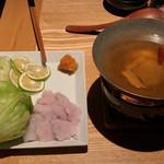 和食・酒 えん - 鱧しゃぶ1,200円。