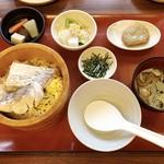 郷土料理 五志喜 - 松山(北条)鯛めしランチ 1,500円