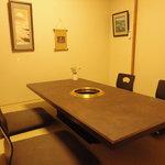肉のレストランくらた - 2階完全個室 2部屋完備(要予約)