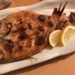 地魚料理 まるさん屋 - 赤むつ「のど黒」塩焼き