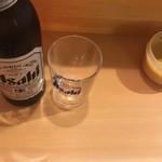 博多のおでん - ドリンク写真:先ずはビール(400円)