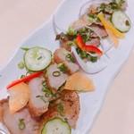 プラスアルファキッチン - イノシシのホホ肉のグリル  1300円