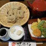 92171661 - 野菜天ざる                                                               (全景)