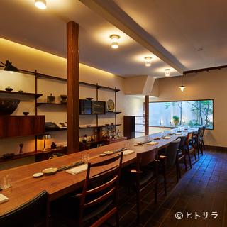 古都の趣を感じられる隠れ家のような一軒家レストラン