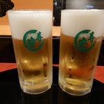 寿し安 - ビール