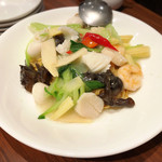 南翔饅頭店 - 海鮮あんかけ焼そば