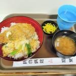 稲葉 - 料理写真:天とじ丼セット