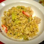 四川チャイナ - お奨めの「カニと野菜の塩味炒め」