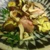 西海道 ときとき - 料理写真:甘鯛の塩焼き、焼き栗、焼き松茸