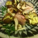 西海道 ときとき - 甘鯛の塩焼き、焼き栗、焼き松茸