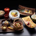 つつじの茶屋 - 秋のミニ懐石(イメージ)