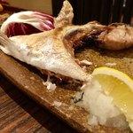 魚酒場ピン - マグロカブト焼き